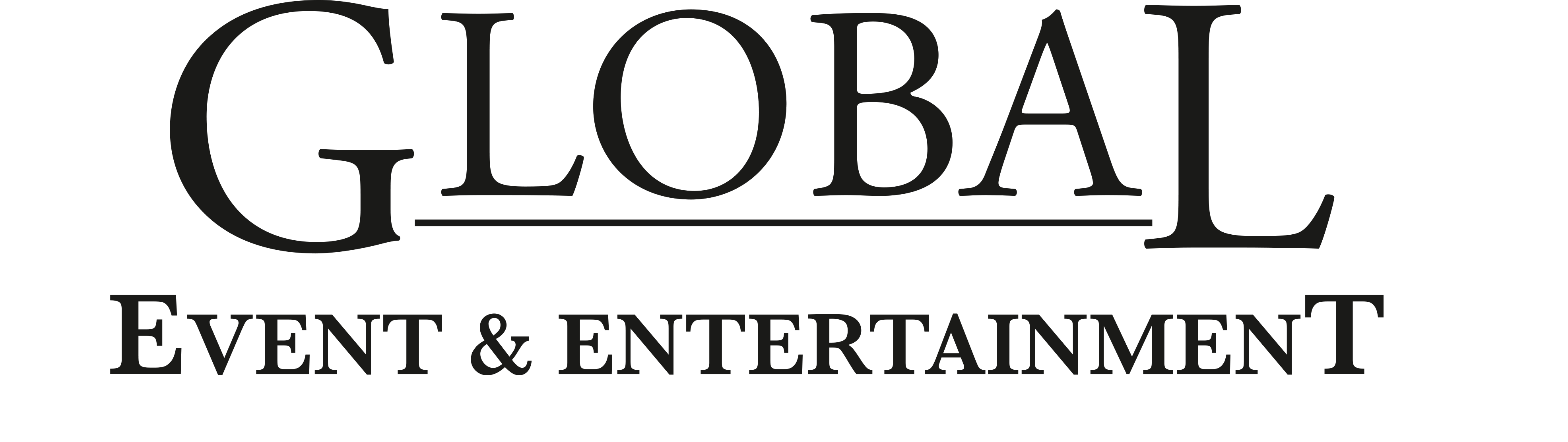 Logo Global Event & Entertainment