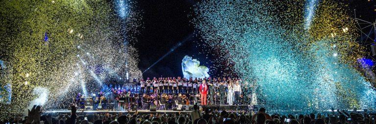 Andrea Bocelli live im Teatro del Silenzio